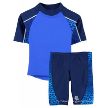 Boys Upf 50+ Breaker S/S Rashguard and Jammer