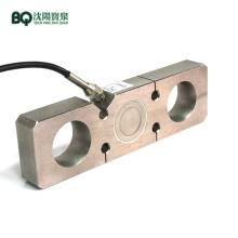 Plate Ring Type Tension Sensor for Construction Hoist