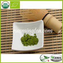 Polvo orgánico del té verde de Matcha (estándar de la UE)