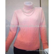 suéter de cachemira de mujer