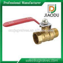 "Male to Female M/F Thread 1/2"" Full Port Brass Water Ball Valve"
