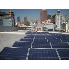 Solar de montaje de rieles de aluminio anodizado