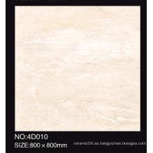 60X60 80X80cm Azulejo de piso acristalado pulido lleno caliente de la venta de la alta calidad