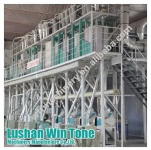 20-1000TPD maize flour machinery with high efficiency