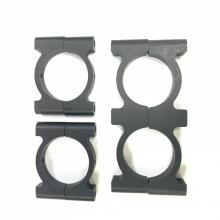 28 mm runde CF-Aluminium-Rohrschelle für Sport