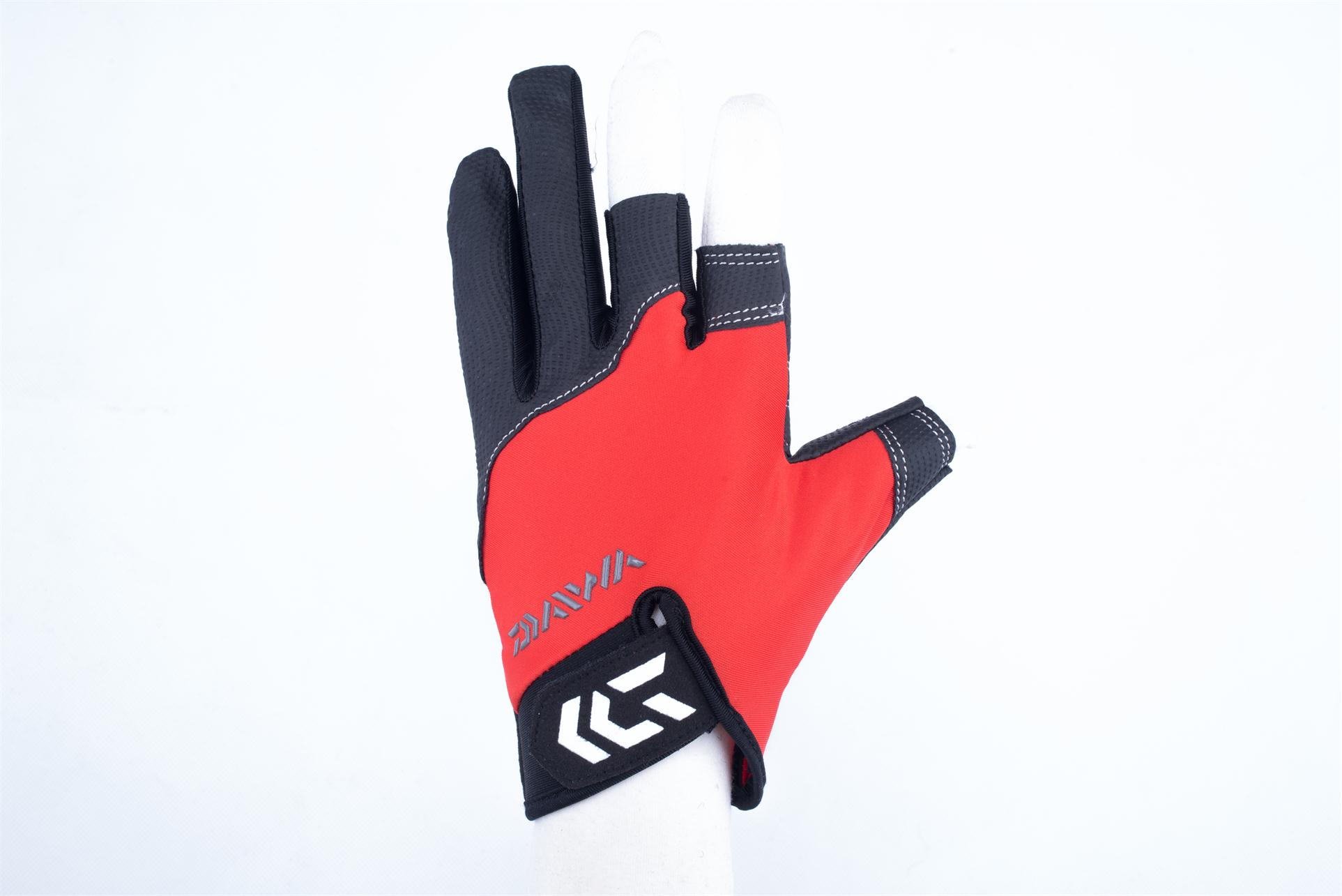 Red Fishing gloves