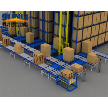 Sistema de Rack de Recuperação Automatizado Estilo Pálete Resistente
