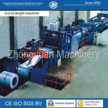 Máquina de corte para comprimento e rebobinamento