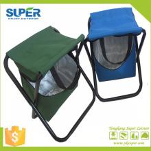 Metal Folding Stool with Cooler Bag (SP-105)