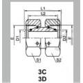 Hydraulic Straight Tube Adaptor With Swivel Nut