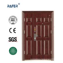Sell Well Design Mother Son Steel Door (RA-S154)