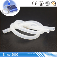 Gaine extensible tressée de tuyau de silicone de qualité médicale