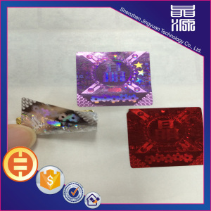 3d Hologram Printing Label