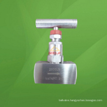 6000 Psi Thread Needle Valve with Lever (GAJ13W)