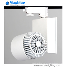 20W Dimmable no parpadeo 90ra COB LED Track Light