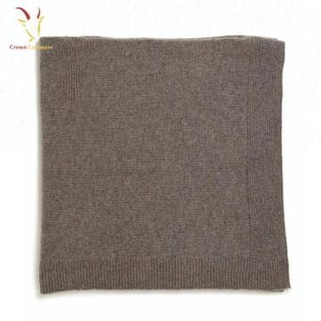 Оптовая Пользовательские Baby Кашемир Шерсть Трикотажные Бросок Одеяло