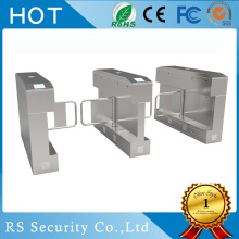 Wide Channel Access Security Swing Gate Turnstyle
