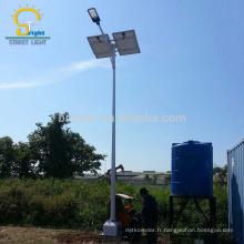 Chine Fournisseur Bon Deign IP65 100 watt LED tous dans un jardin solaire rue Lumière extérieure interrupteur de la minuterie
