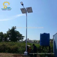China Supplier Good Deign IP65 100 watt LED all in one garden solar Street Light outdoor timer switch