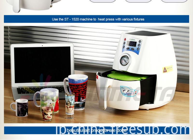 Sunmeta 3D Mini Sublimation Vacuum Press Machines