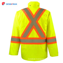 Modern style superior quality best price personal protective safety workwear reflective jacket