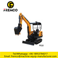 Mini Excavator for Digging River