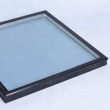 5mm-8mm thickness insulated roof double glazed tempered glass window