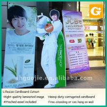 Cardboard display Cutout Advertising Boards