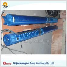 Bomba de água submersível de alta pressão de poços profundos de eixo longo