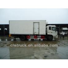 Venta caliente Dongfeng camiones frigoríficos para la venta, 4x2 camiones refrigeración