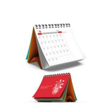 Calendario de escritorio a todo color modificado para requisitos particulares de alta calidad para los efectos de escritorio, fuente de la oficina