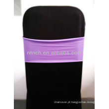 Linda faixa do Spandex, Lycra Sash, lilás