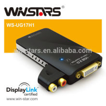 Sortie HDMI USB 2.0 avec adaptateur audio