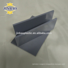 JINBAO gray pvc material 1.22x2.44 pvc Rigid sheet for construction
