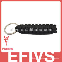 Fashion parachute santa claus paracord keychains