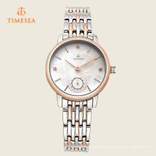 Reloj de señoras del acero inoxidable de la buena calidad de la manera del encanto 71125