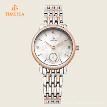 Charme moda boa qualidade aço inoxidável Ladies Watch 71125