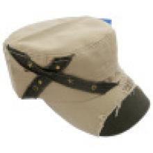 Casquette militaire avec appliques (MT07)