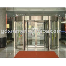 Porte chauffante automatique à 2 portes à chaud, verre de sécurité, châssis en aluminium, CE I