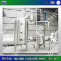 Series vacuum concentrator pot