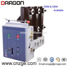 Disjuntor de vácuo interior de alta tensão ZN63A-12 12kv