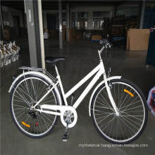 """28 """"China Factory Directly Sell Ladies Classic Bike Steel Frame Cheap Price Single Speed Women Bicycle"""