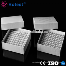 Caja de tubo criogénico de papel de 1,8 ml / 2 ml