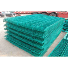 Hot Sale !! PVC coated metal fence panels