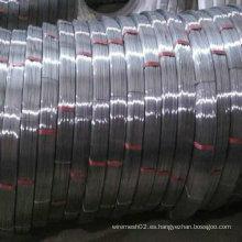 Alambre de acero de alto carbono 55 # Oval Wire