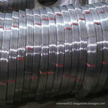 High Carbon Steel 55# Oval Wire