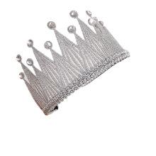 Bow Knot Crown Headband Luxury Hair Accessories Hairband Korean Handmade Princess Birthday Gift Party Sweet for Women Girls