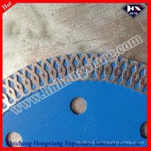Lâminas de corte diamantadas contínuas afiadas para telhas cerâmicas