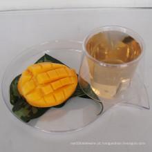 3.1 Oz copo de plástico com chassi Jantar conjuntos