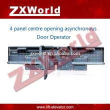 Elevator fermator door parts/automatic sliding Asynchronous door operator -4 panel side opening door